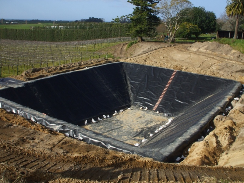 Pond dam liners aspect environmental lining for Pond liner material